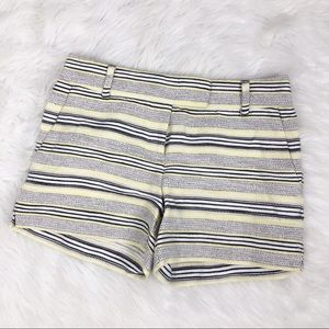 LOFT The Riviera Striped Shorts Size 2